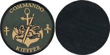 Commando KIEFFER, en tissu basse visibilité sur velcros,80 millimètres,(TS115)
