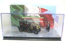 Fiat 0 200° Anniversary Carabinieri with 2 Figurines (Black) 1:43