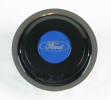 Nardi Classic Steering Wheel Horn Button - Black with Ford Logo - NOS