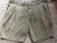 Men's Tommy Bahama pleated 100% silk shorts size 42