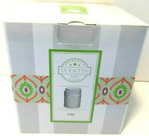 Scentsy Edge Burlap Textured Full Sized Scented Wax Warmer 29131 NEW