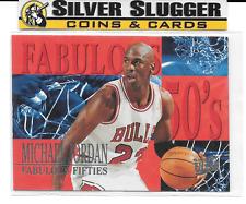1995-96 Ultra Michael Jordan Fabulous 50's #5 of 7 Insert Card