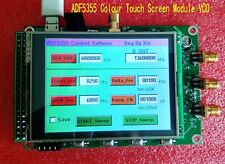 NEW ADF5355 Colour Touch Screen Module VCO Microwave Frequency Synthesizer PLL