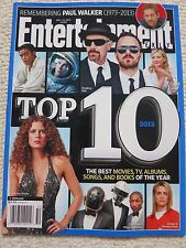 Entertainment Weekly Magazine December 13, 2013 Top 10 Movies TV Albums Songs