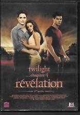 DVD ZONE 2--TWILIGHT CHAPITRE 4 - REVELATION / 1ere PARTIE--PATTISON/STEWART