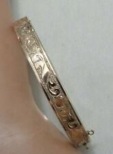 """Bracelet Floral Top 1/4"""" B&B Victorian Gold Filled"""