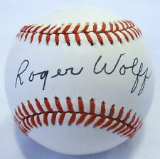 RARE Roger Wolff dec.94 PSA/DNA 1941-1947 Authentic Single Signed Baseball