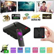 Smart TV Box Android 9.0 2G 16G RK3328 Quad-Core DDR3 USB3.0 Media Player F7T0