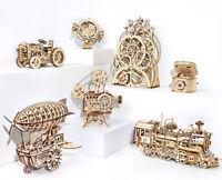 Robotime Kits de construction de modèles mécaniques en bois Jouet pour adultes