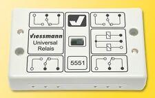 SH Viessmann 5551 Universal-Relais 1x4UM Fabrikneu