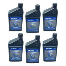 NEW For Audi Q7 VW Jetta Set of 6 Automatic Transmission Fluid AISIN G055025A2