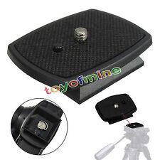 Tripod Quick Release Plate Mount Screw Adapter Head For DSLR SLR Digital Camera