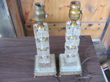 VINTAGE-OLD-PAIR LAMPS-LOOK AT THESE NICE PAIR