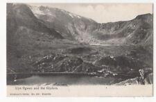 Llyn Ogwen & The Glyders North Wales Vintage Postcard 808b