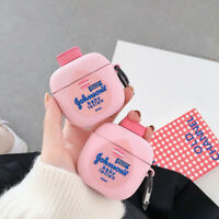 3D Body Lotion Silicone Case For Airpods Pro 1st & 2nd Generation Earphone Cover
