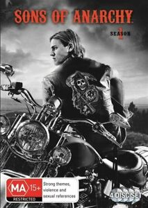 DVD SONS OF ANARCHY COMPLETE SEASON ONE 1  BRAND NEW SEALED