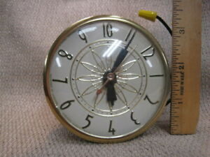 Vintage Lanshire Electric Clock Movement – made in USA