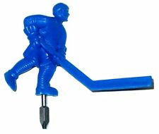 Replacement Carrom Blue Short Stick Dome Bubble Hockey Table Man