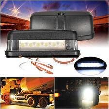 LED LICENSE NUMBER PLATE LIGHT UTE BOAT TRUCK TRAILER CARAVAN SUBMERSIBLE 12-24V