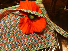 ancienne mercerie ,4   mx1,50m joli galon vieux rose  6lots dispo non coupés