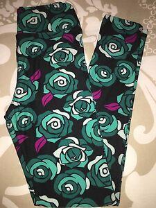 LulaRoe New Tween Disney Roses Unicorn HTF