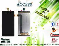 ECRAN LCD + VITRE TACTILE pour WIKO PULP FAB 4G NOIR