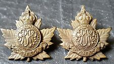 245th Infantry Battalion Collar Badges Cypher Montreal Grenadiers 245B