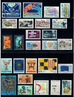 LOT ANNEE 1994 TIMBRES OBLITERES