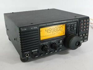 Icom IC-R75 Ham Radio Communications Receiver (works well, modified)
