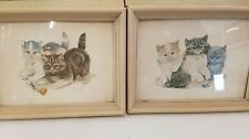 Set Of Vintage Cat Pictures