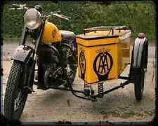 Bsa Aa 04 A4 Metal Sign Motorbike Vintage Aged