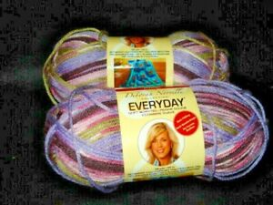 2 SKS. LILAC RIDGE Deborah Norville Everyday Yarn 180 yds