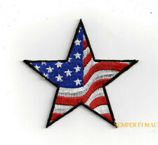 STARS N STRIPES HAT PATCH USA AMERICA GIFT PIN UP FLAG OLD GLORY 'MURICA WOW
