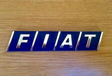120mm x 25mm FIAT EMBLEM BADGE LOGO TAIL GATE TIPO BRAVA BRAVO TEMPRA 124 131