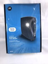 Motorola Surfboard Cable Modem (wired)