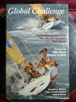 """SIGNED Humphrey Walters """"Global Challenge"""" Toughest Yacht Race 1999 HB Book"""