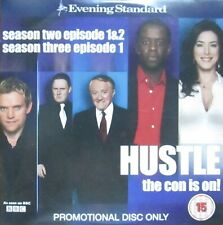 HUSTLE THE CON IS ON DVD THREE EPISODES