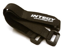 INTEGY C27934BLACK 20x150mm Battery Strap(4)for RC Car Boat RC Heli & Airplane