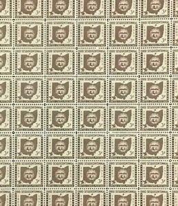 #1018 Ohio Statehood full mint sheet of 70 MNH OG