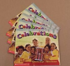 NICE Lot Set of 5 Guided Reading Books Scholastic CELEBRATIONS Berger & Moreton