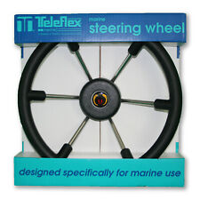 "NEW 14"" Teleflex Marine Boat Steering Wheel 38718, fits any Standard Marine Helm"