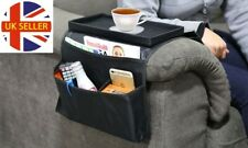 Pocket Arm Rest Organiser 6 Pocket Couch Sofa Tray Remote Holder