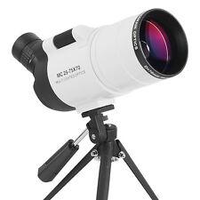 25-75X70  Monocular Telescope Zoom Spotting Birdwatching With Tripod Waterproof