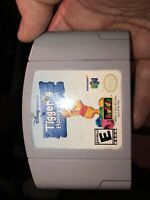 Disney Tigger's Honey Hunt (Nintendo N64) Video Game Cartridge - Winnie the Pooh