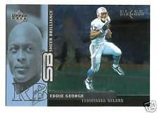 Eddie George 1998 UD Black Diamond Sheer Brilliance 98