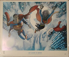 LAST CHILDREN Of KRYPTON GICLEE #14/50 ROUX SUPERMAN
