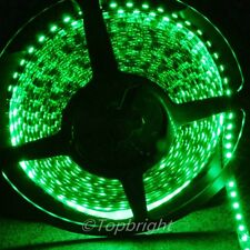 10X 5m 500CM Green 3528 SMD LED Flexible 600 LEDS Strip