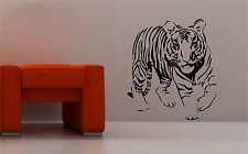 STUNNING TIGER wall art sticker vinyl BEDROOM LOUNGE animal kids