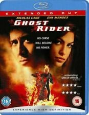Ghost Rider Blu-ray 2007 Region by Nicolas Cage Eva Mendes.