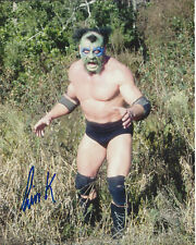 The Missing Link #7 autographed 8x10  WWF WCCW  Free Shipping (Deceased)
